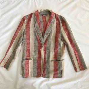 Diane von Furstenberg vintage striped blazer 8